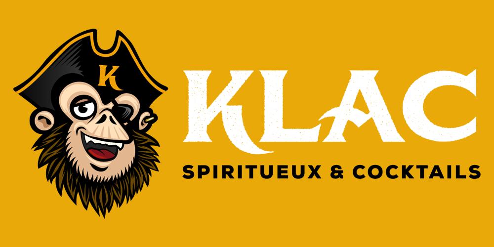 Logo Klac, spiritueux & cocktails